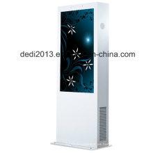 55 pulgadas de alto brillo WiFi publicidad gran pantalla LCD al aire libre