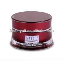 Frasco de cosméticos acrílico para cuidados com a pele 10ml 25ml 30ml 50ml