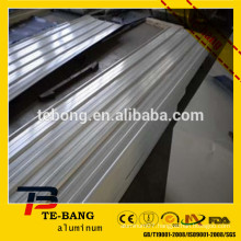 Color Aluminum Sheet Metal Sheet/Metal Roof Prices manufacturer