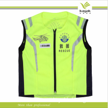 Custom Men Mesh High Visibility Reflective Safety Vest (KY-V011)