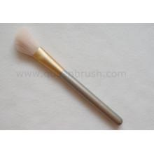 Private Label Soft Nylon Pelo Blush polvo Maquillaje cepillo