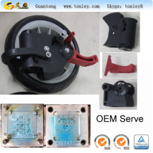 Graco baby stroller wheel parts injection moulds