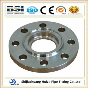 stainless steel raised face socket welding flange rf
