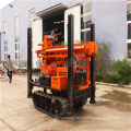 Crawler mounted pneumatic water well drilling rig