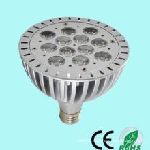 Precio de fábrica de CE / RoHs Ra> 80 alta luz 12w / 13w / 14w PAR38 e27 llevó la luz del punto