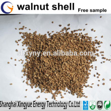 Abrasives walnut shell powder for cosmetics