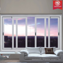 Modern Style Sliding Aluminum Windows, Residential or Commerical Windows