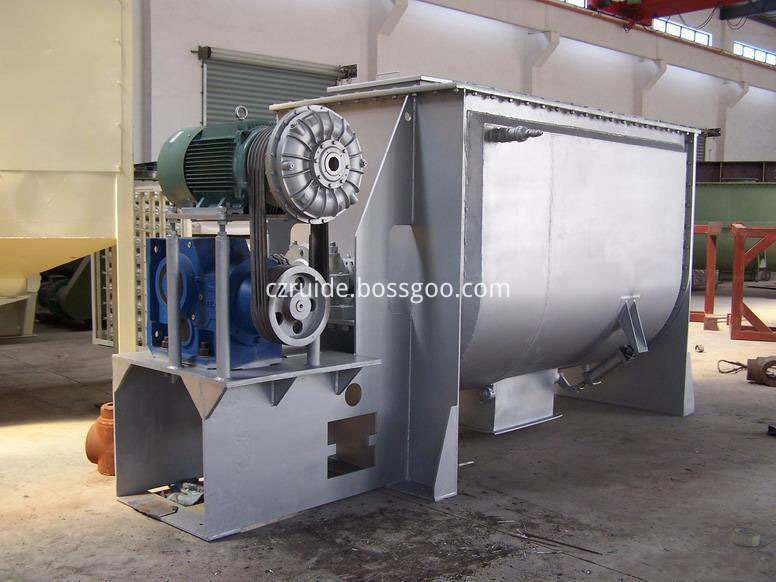 Horizontal Ribbon Mixer for Modified Starch Mixing