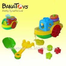 907061297 O verão crianças praia brinquedos barco