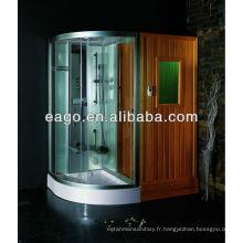 Salle de sauna infrarouge lointain avec douche à vapeur (DS205F3)