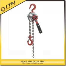 Cadena de elevación de la construcción Cadena de elevación manual y manual de la palanca