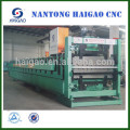 Rodillo de acero del color del CNC de la capa doble que forma la máquina