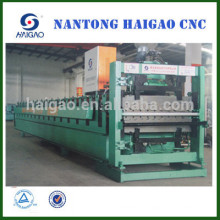 Double Layer CNC color steel roll forming machine/ roof tile manufacturing machine