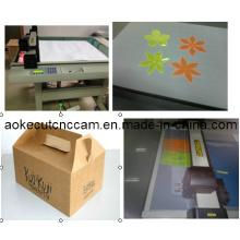 Tri-Fold Paper Box Cutting Table Machine