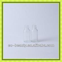 Vente chaude bouteille d'huile essentielle de verre transparent de 20 ml