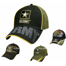 Fashion Cool Military Mens Embroidery Indian Army Cap