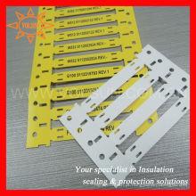 Identificação de submarinos Tie on Cable labels