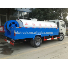 Alto eficiente Dongfeng 3000L alta pressão esgoto veículo de descarga