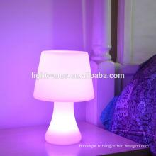 Haute qualité pas cher en plastique LED événement humeur lampe 2015