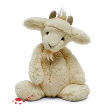 plush cartoon white sheep