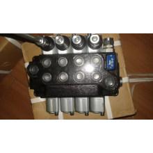 Válvula multi-vias hidráulica para equipamento de perfuração hidráulico sem valas