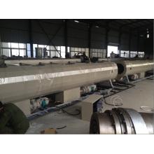 Maquinaria plástica del extrusor del tubo del HDPE