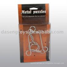 Metal puzzle brinquedo