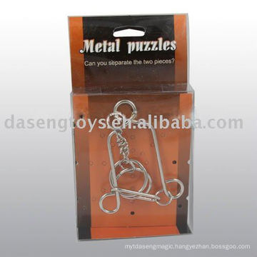 metal puzzle toy