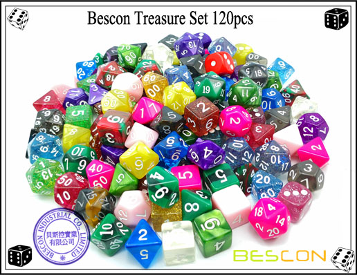 Bescon Treasure Set 120pcs-3