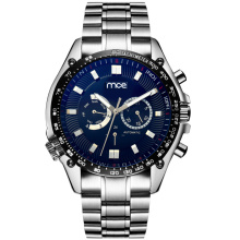 Fashion own logo stainless steel back water resistant mechanical men watch