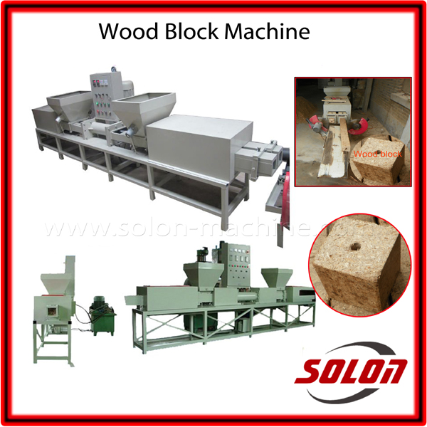Waste Wood Pallet Feet Making Machine