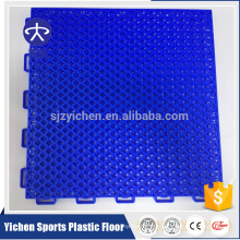 Yichen outdoor basketball court flooring pp material interlocking tiles