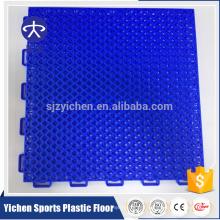 Yichen outdoor basketball court flooring pp material interlocking tiles