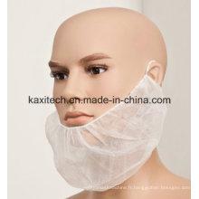 Capuchon de barbe à couvercle barbe blanche jetable