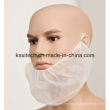 Disposable White Beard Cover Mouth Cap