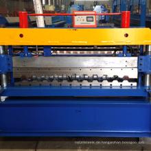 2017 kanton fair c21 automatische fliesen schneiden roll formmaschine botou hersteller