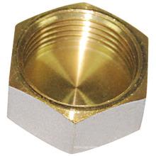 Acoplamiento del casquillo del hexágono de cobre amarillo (A. 0211)