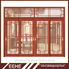 Chinese Supplier Wood Door Villa Exterior Wood Door with Glass