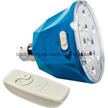 Ampoule d'urgence rechargeable à distance
