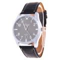 2016 Fashion Business Women Leather Wristband Watch