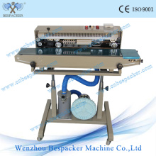 Vertical Continuous Pouch Automatic Sealing Machine with Iron Wheel