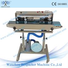 Vertical Contínua Pouch Máquina de selagem automática com Roda de Ferro