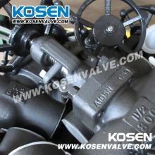 Кованые Стальные A105 Резьбовые Клапаны (J11)