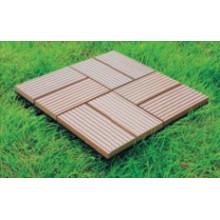 ДПК плитка DIY деревянная пластичная составная плитка (HLWPC003)