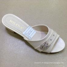 Nouveau Style Bonne Qualité Mode Dames Chaussures PU Sandales (JH160523-7)