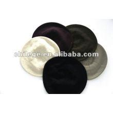bonés de malha de cashmere de cabo, chapéus