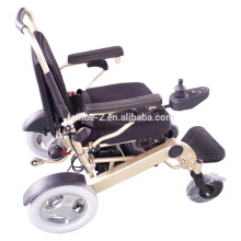 Lightweight portable folding electric power wheelchair FC-P1