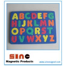 Imán del refrigerador del alfabeto EVA 26 / juguetes educativos