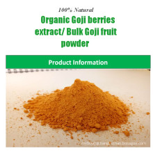 China supplier natural 100% goji berry powder certified organic goji berry extract