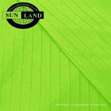 Schnelltrocknendes Drop-Nadel-Interlock-Material aus 100% Polyester